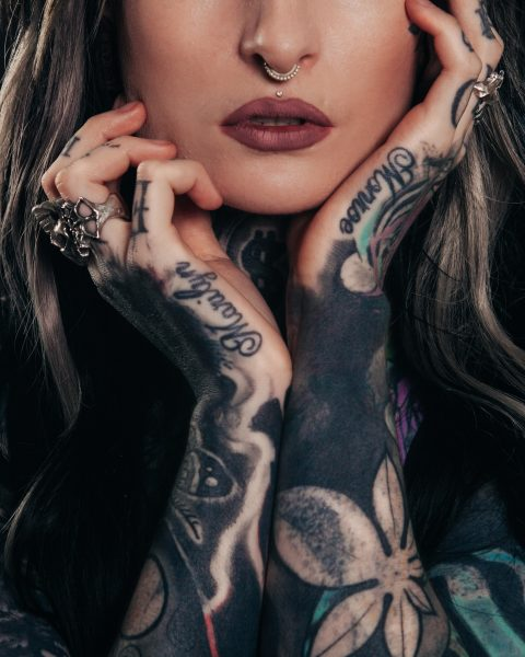 Pimple on Tattoo
